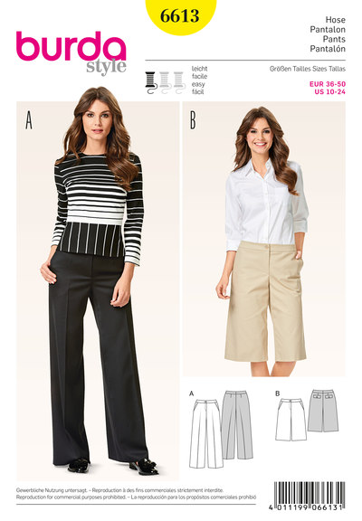 Pants/Trousers, Culottes, Flared Legs