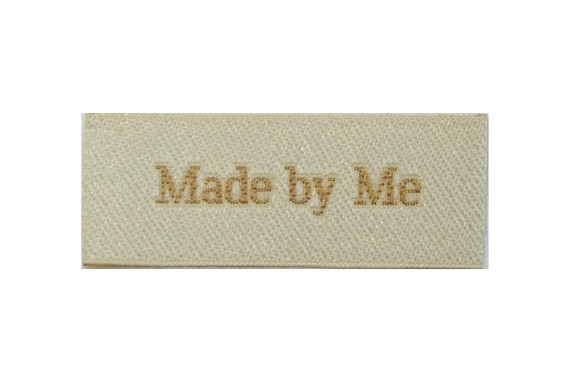Made by me patch 5 x 2 cm