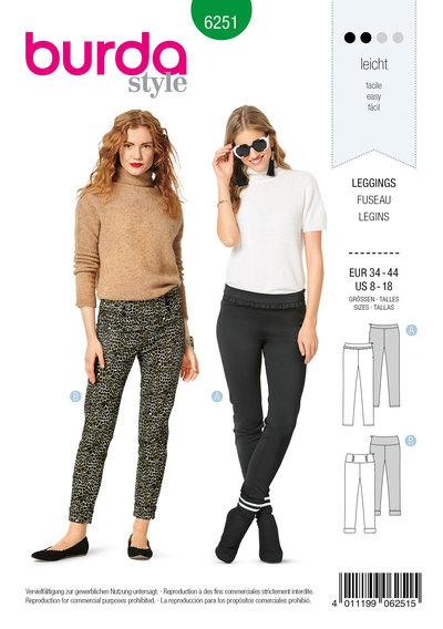 Leggings, Side Zipper