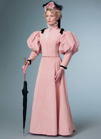 Costume Classic Dress. Butterick 6537.