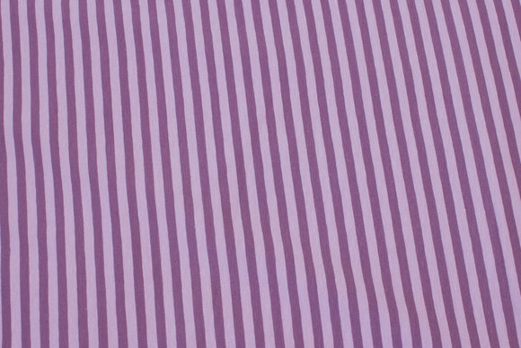 Across-striped cotton-jersey in dusty old rose and dusty heather