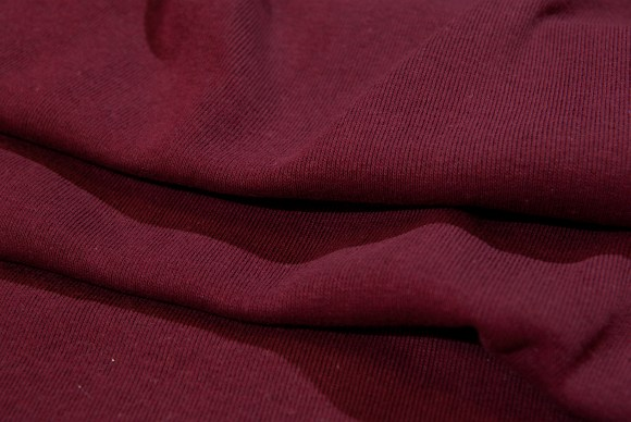 Bordeaux rib-fabric in classic good quality