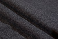 Charcoal rib-fabric in classic good quality