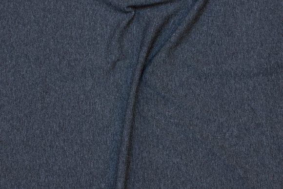 Classic viscosejersey in speckled charcoal
