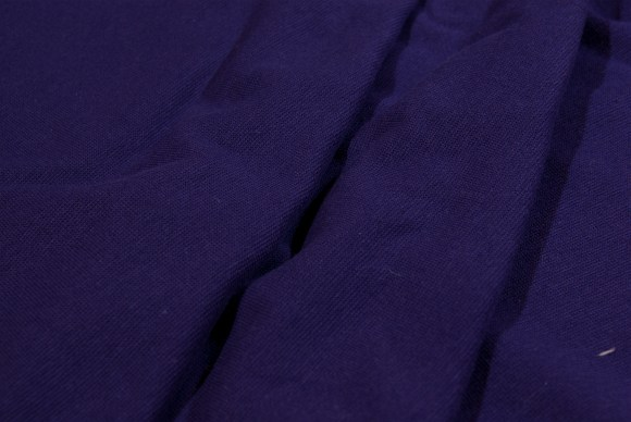 Dark purple rib-fabric in classic good quality