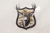 Deer patch 6 x 7 cm