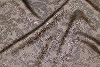 Grey jacquard-woven lining