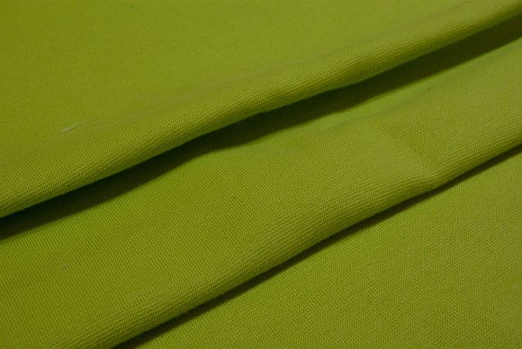 Lime rib-fabric in classic good quality
