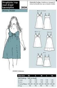Onion 2024 strap dress. Onion 2024.