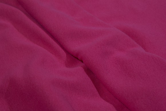 Pink rib-fabric in classic good quality