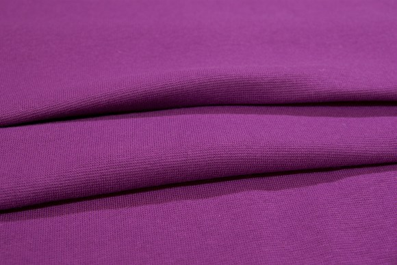 Red-purple rib-fabric in classic good quality