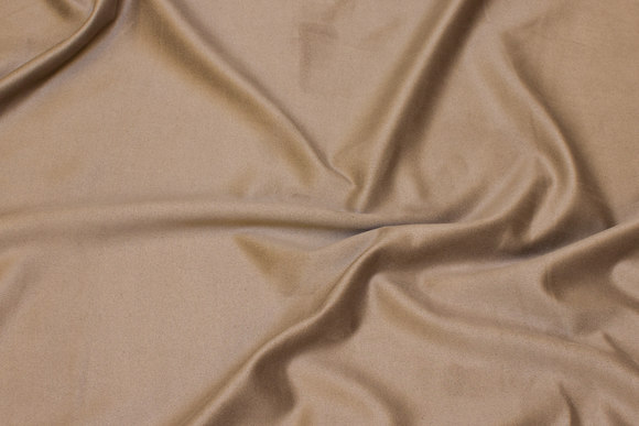 Sand-colored stretch-suede