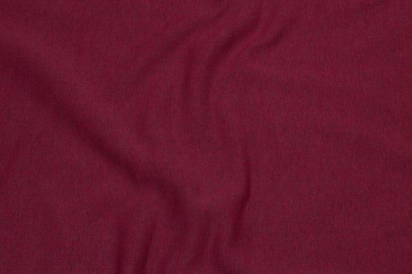 Speckled tomatrød winter-sweatshirt-fabric