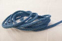Cotton cord pigeon blue 5mm