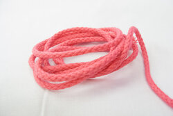 Cotton cord pink 5mm