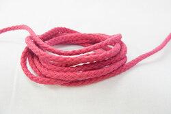 Cotton cord dark pink 5mm