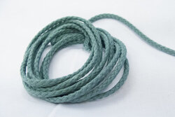Cotton cord dusty green 5mm