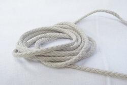 Cotton cord sand-coloured 5mm