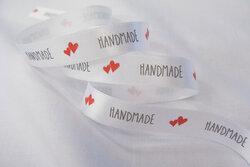 Handmade satin ribbon 1,5cm