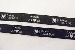 Handmade woven ribbon 1,5cm