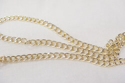 Chain gold 7mm
