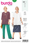 Burda 6307. Asymmetric top.