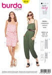 Burda 6318. Jumpsuit.
