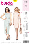 Burda 6320. Sheath dress.