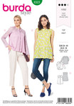 Burda 6323. Blouse with yoke.