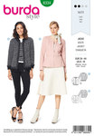 Burda 6334. Peplum jacket.