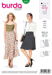 Burda 6340. Wrap skirt.