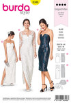 Burda 6346. Special occasion dress.