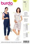 Burda 6348. Maternity overalls .