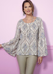 Gathered, Raglan Sleeve Tops