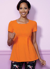 Butterick pattern: Pullover, Paneled Tops