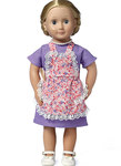 Aprons, Dress and Necklace for 18 inch doll
