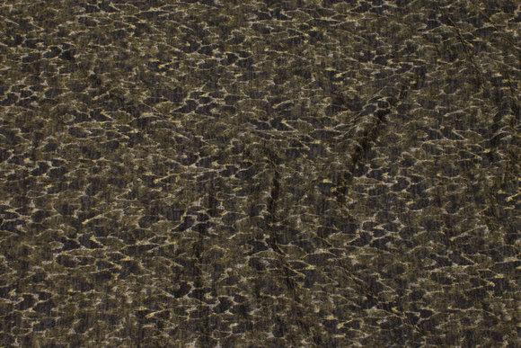 Lightweight winter-knit in green nuances