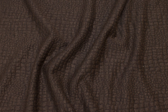 Brown heavyjersey with bubble-effect