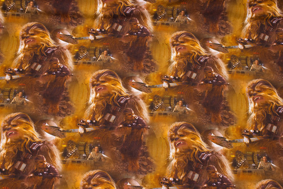 Star wars cotton-jersey with Chewbacca