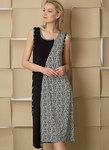 Pullover Dresses with Asymmetrical Front, and Sleeve Variations, Marcy Tilton