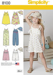 Child´s Jumpsuit, Romper, Dress and Hat