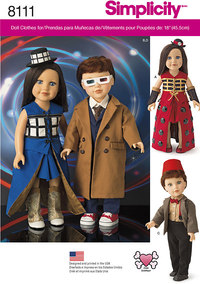 Costumes for 18 inches Dolls