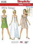 6 Misses´ Easy-to-Sew Vintage Dress
