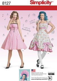 7 Misses´ Lolita and Rockabilly Dresses