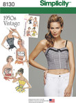 0 Misses´ 1950´s Vintage Tops and Cropped Tops