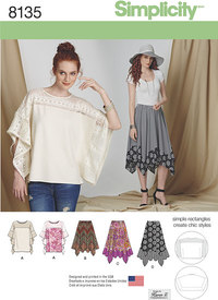 5 Misses Easy-to-Sew Skirt in Three Lengths and Tunic