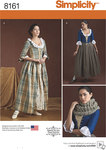 Simplicity 8161. Misses´ 18th Century Costumes.