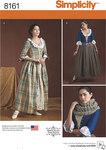 Misses´ 18th Century Costumes
