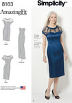 Miss and Plus Amazing Fit Special Occasion Dress