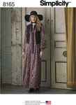 Misses´ Maxi Dress with Lined Vest and Tie